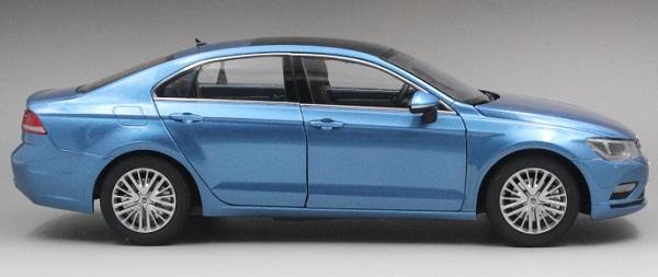 โมเดลรถ โมเดลรถเหล็ก โมเดลรถยนต์ Volkswagen Lamando น้ำเงิน 3