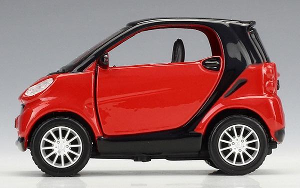 โมเดลรถเหล็ก โมเดลรถยนต์ Benz Smart 2 5