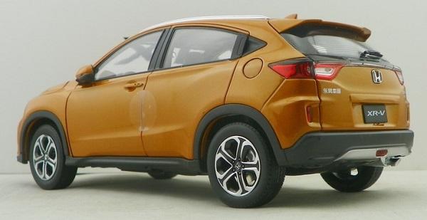 โมเดลรถ โมเดลรถเหล็ก โมเดลรถยนต์ Honda XRV ส้ม 2