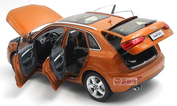 โมเดลรถ โมเดลรถเหล็ก โมเดลรถยนต์ Audi Q3 2013 orange 5