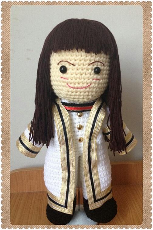 ตุ๊กตารับปริญญา ม.เฉลิมกาญจนา สูง 12 นิ้ว