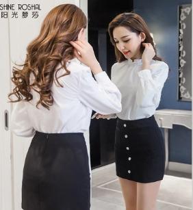 JY21924#เสื้อเชิ้ตแบบสวยๆ