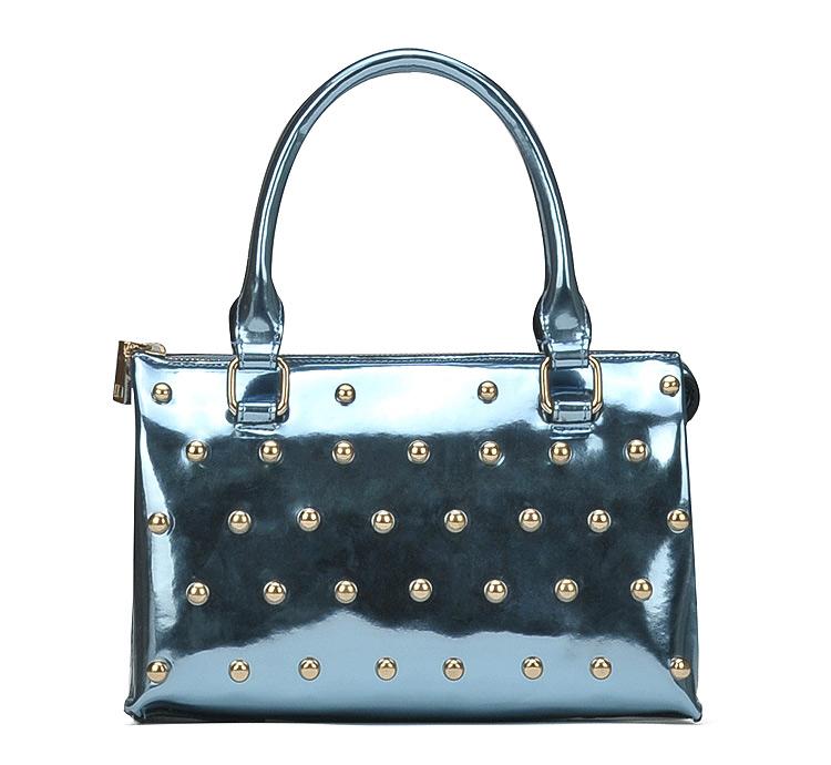 กระเป๋าถือ / กระเป๋าสะพาย Maomaobag รุ่น M03-011 สีฟ้า