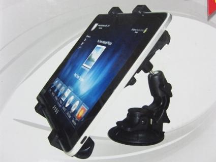 ขาตั้งติดกระจก ในรถยนต์ สำหรับ ipad--table-GPS-DVD-TV+ซัมซุง