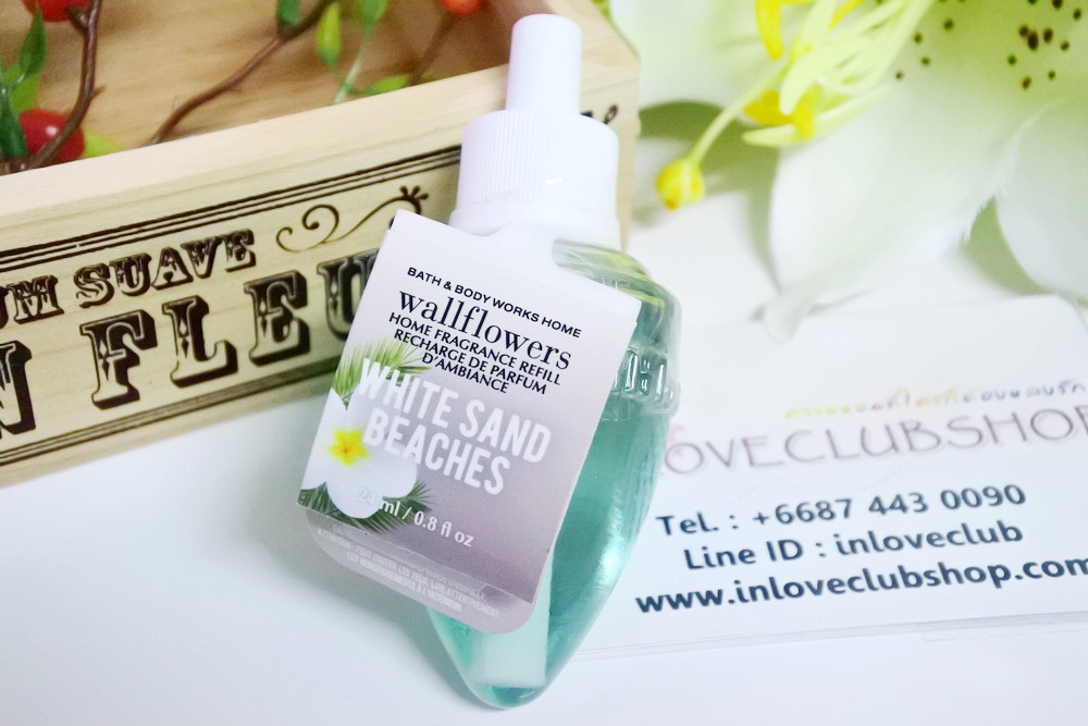 Bath & Body Works / Wallflowers Fragrance Refill 24 ml. (White Sand Beaches)