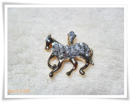 จี้ห้อยคอ ประจำราศีเกิด นักษัตร ปีมะเมีย ม้า