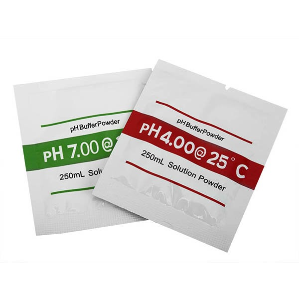 2 Bags PH4.00 PH7.00 Buffer Powder For PH Test Meter Measure Calibration Solution