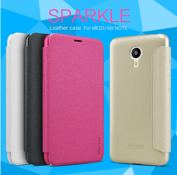เคส Meizu M2 NOTEรุ่น Sparkle Leather Case NILLKIN แท้ !!ใหม่ล่าสุด
