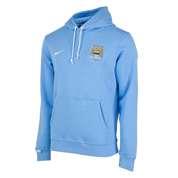 เสื้อฮู้ดแมนเชสเตอร์ ซิตี้ Manchester City Core Hoody - Sky Blue ของแท้ 100%