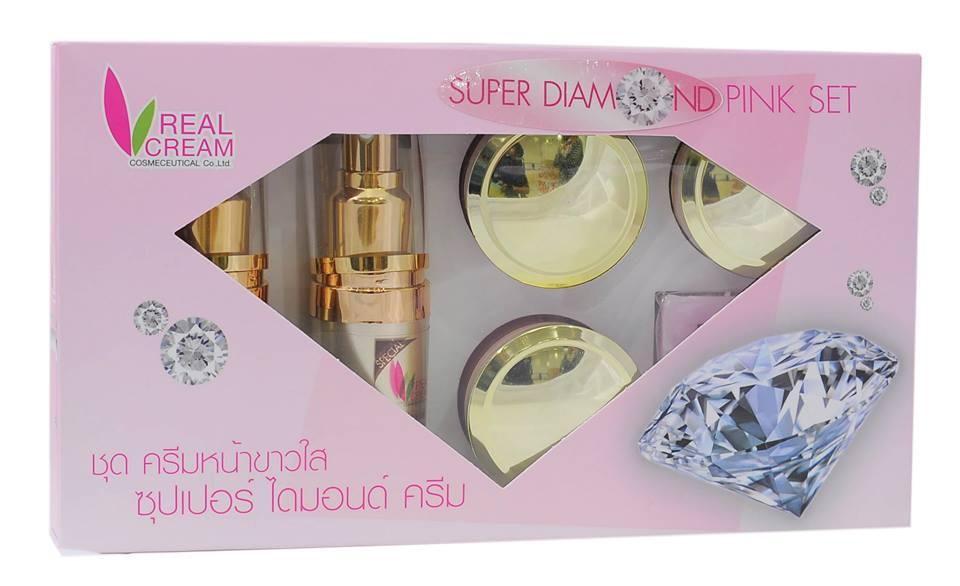 เรียวครีม Super Diamond Set 15 กรัม