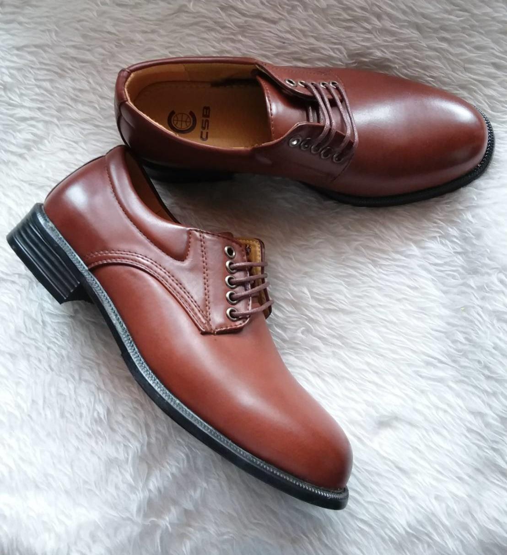 รองเท้าหนังสีน้ำตาล ผู้หญิง เบอร์ 38-40 ยี่ห้อ CSB