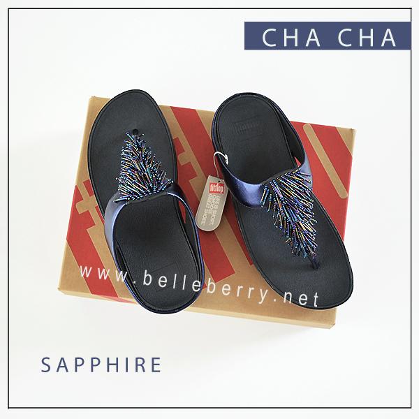 FitFlop CHA CHA : Sapphire : Size US 9 / EU 41