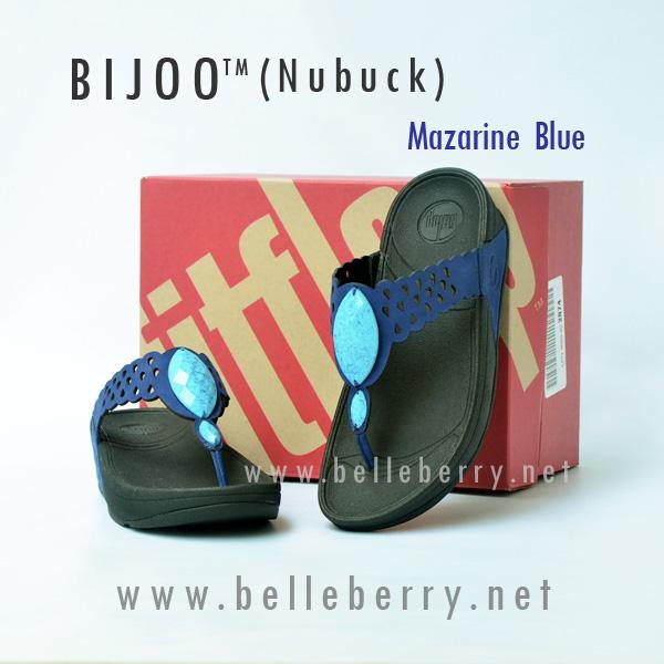 **พร้อมส่ง** FitFlop Bijoo ( Nubuck ) : Mazarine Blue : Size US 7 / EU 38
