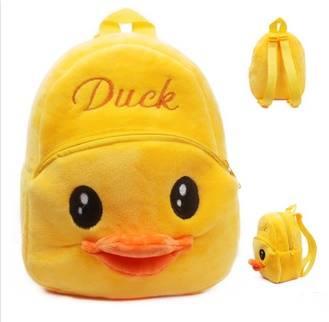 กระเป๋าเป้สะพายหลัง 2 ซิป Duck