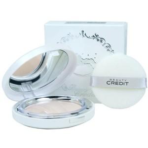 Beauty Credit lovely Q10 Sun Pact SPF50