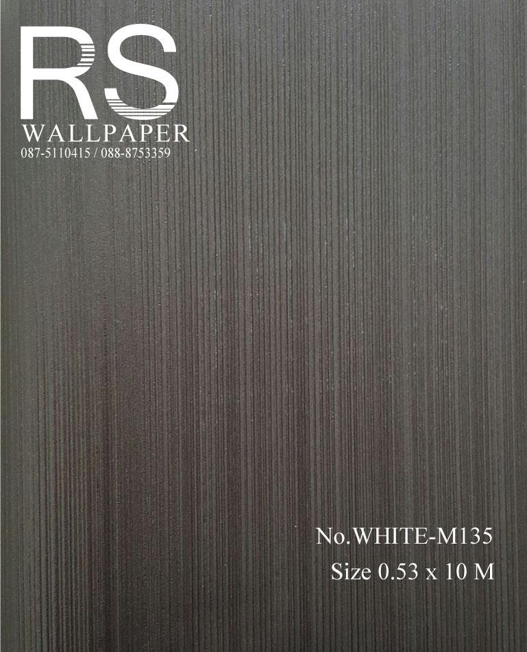 วอลเปเปอร์พื้นสีเทา-ดำ WHITE-M135