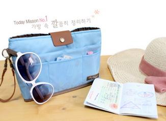 กระเป๋าจัดาะเบียบ bag in bag v.2