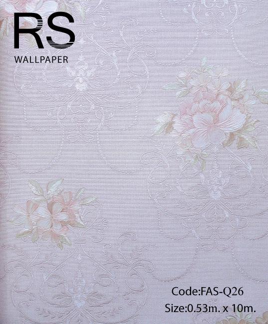 วอลเปเปอร์ลายดอกไม้ FAS-Q26