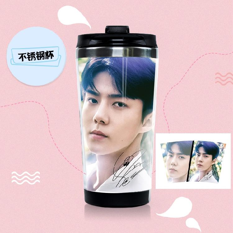 แก้วสแตนเลสอย่างดี Sehun- EXO PLANET4
