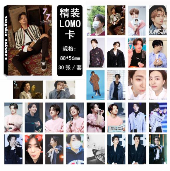 LOMO เซต 10 ใบ ยองแจ - GOT7 YOU ARE