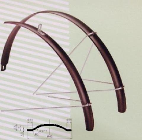 CC-951-700 x 28-32C : บังโคลน อัลลอยด์ 42mm สำหรับล้อ700x28-32C
