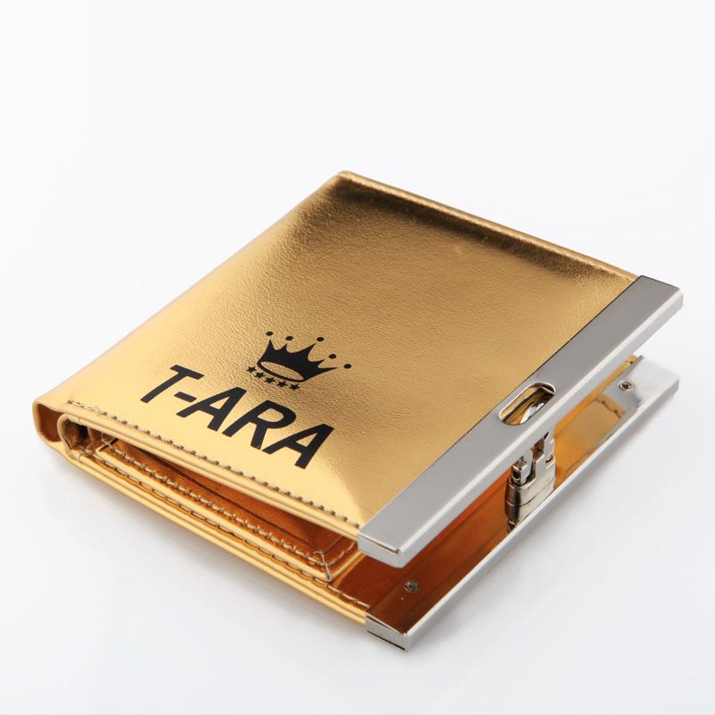 กระเป๋าสตางค์ T-ARA สีทอง