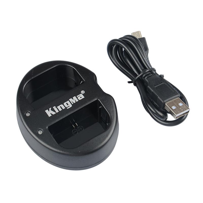 Kingma Canon LP-E6 LP-E6N USB Dual Battery Charger แท่นชาร์จแบ็ตเตอรี่ แคนนอน