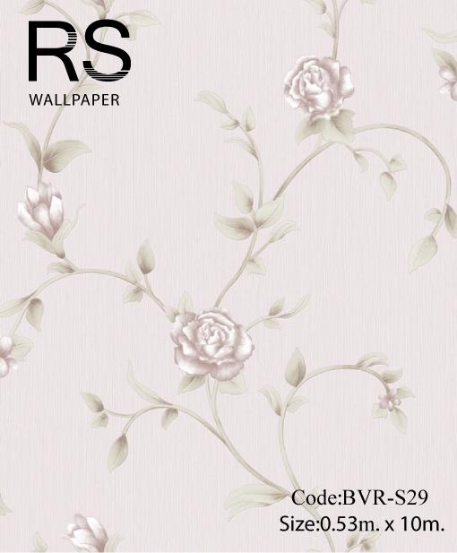 วอลเปเปอร์ลายดอกไม้ BVR-S29