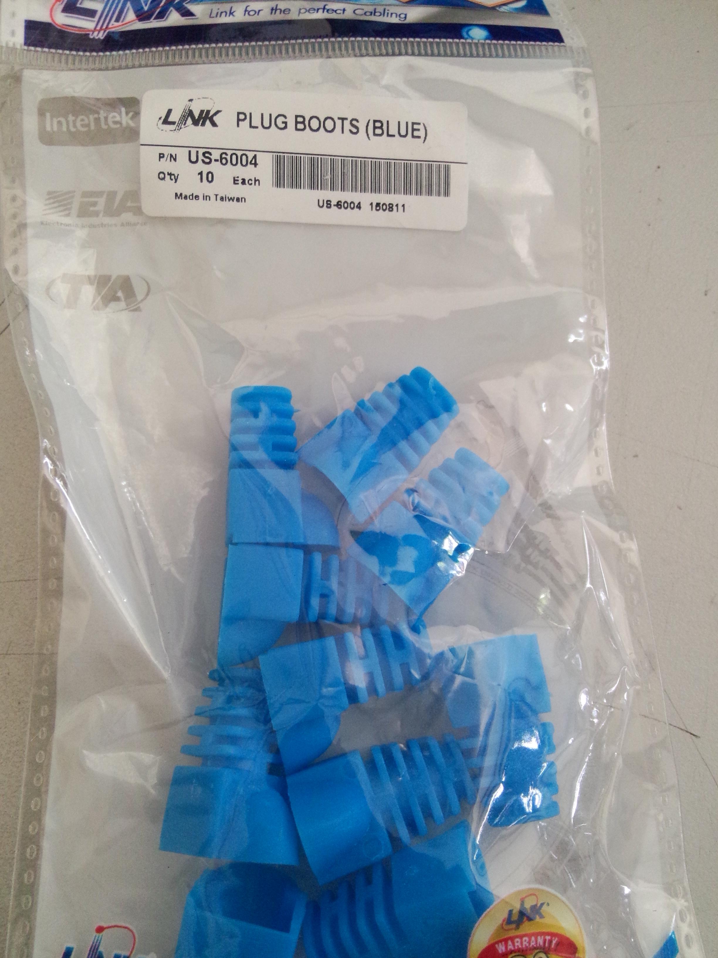 Link US-6004 PLUG BOOTS (Blue)