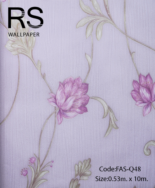 วอลเปเปอร์ลายดอกไม้ FAS-Q48
