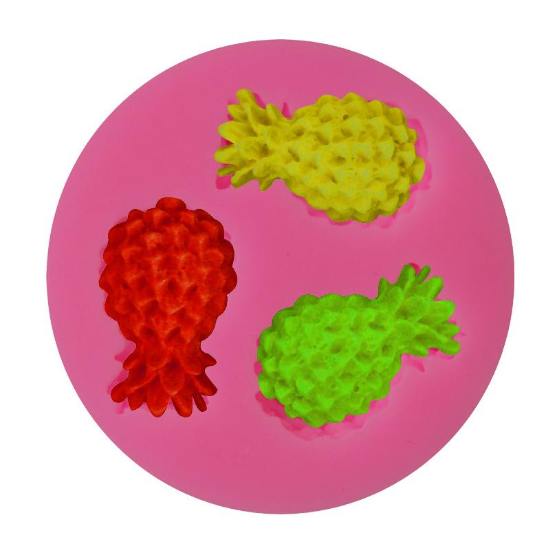 โมล พิมพ์ซิลิโคน รูปสับปะรด