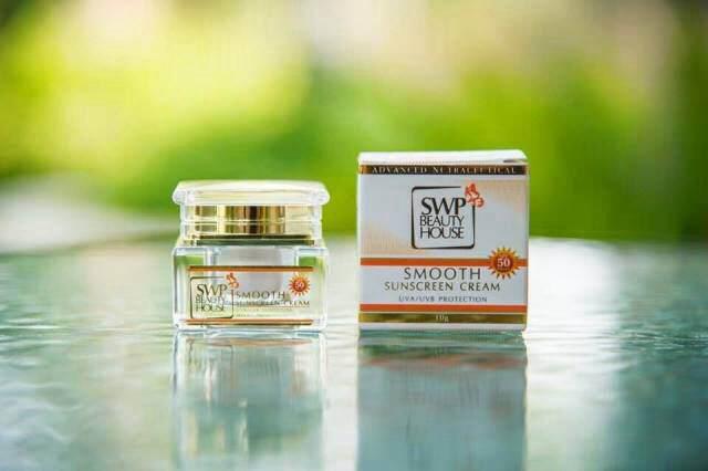 SWP Smooth Sunscreen Cream (เอส ดับบลิว พี สมูทซันสกรีนครีม)