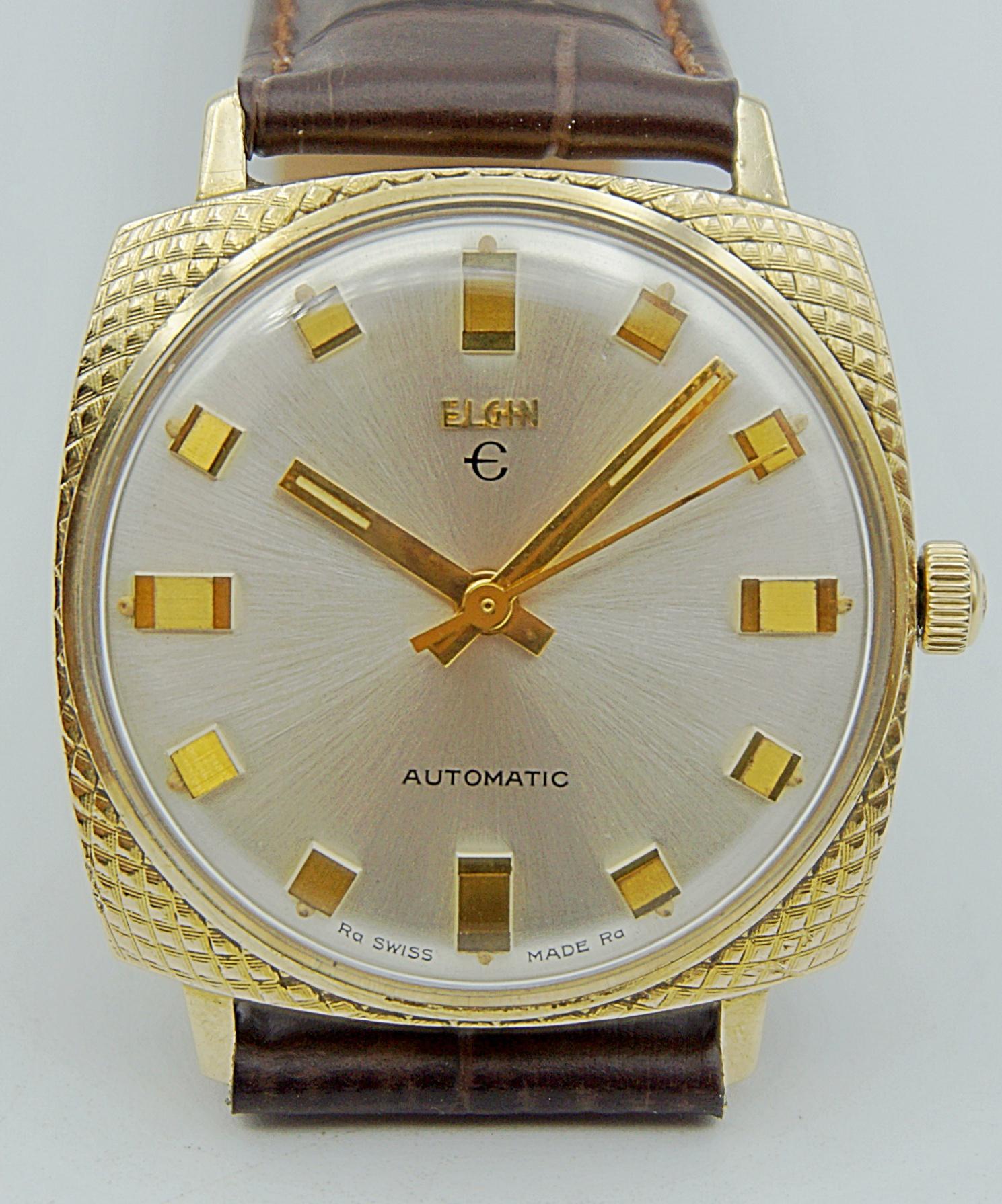 นาฬิกาเก่า ELGIN ออโตเมติก