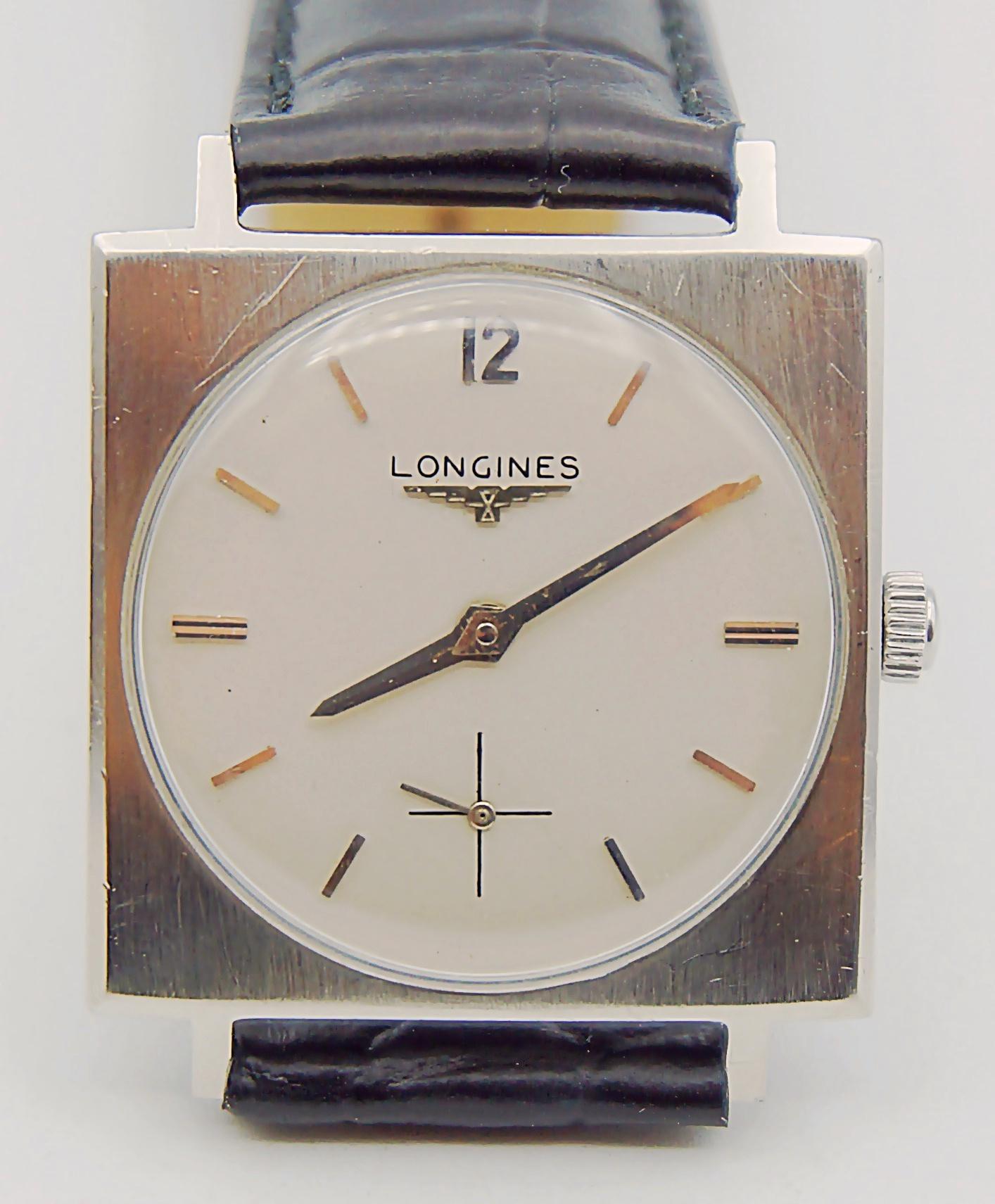 นาฬิกาเก่า LONGINES ไขลาน สองเข็มครึ่ง