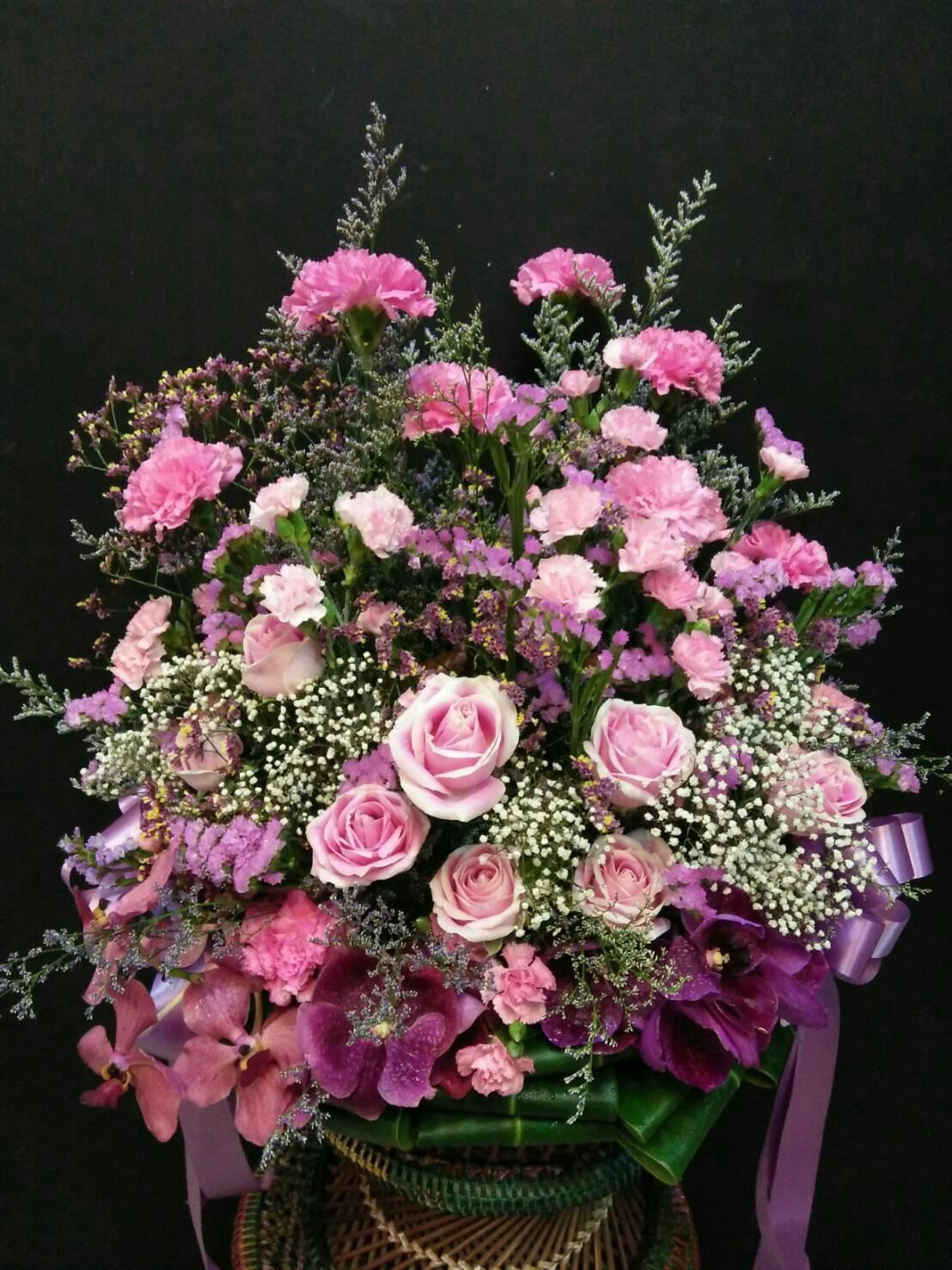 กระเช้าดอกไม้14