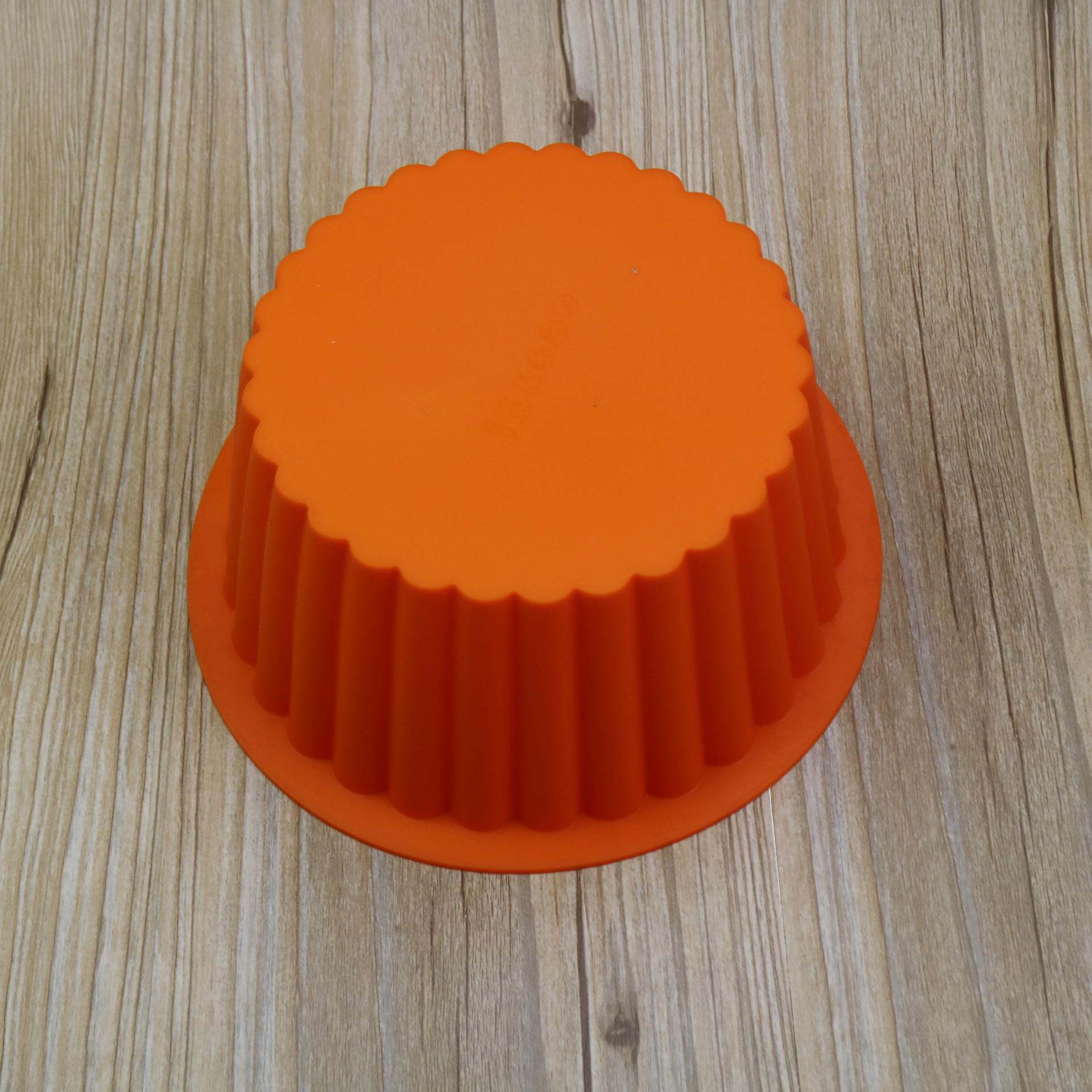 พิมพ์ซิลิโคน พิมพ์วุ้น รูปวงกลม 19*13.5*8.5 cm.