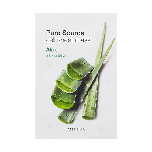 Missha Pure Source Cell Sheet Mask 21g #Aloe