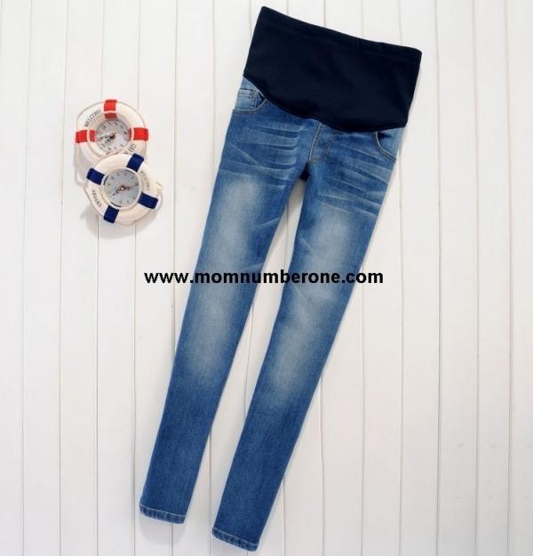 กางเกงคลุมท้อง ยีนส์ขายาว Size XL