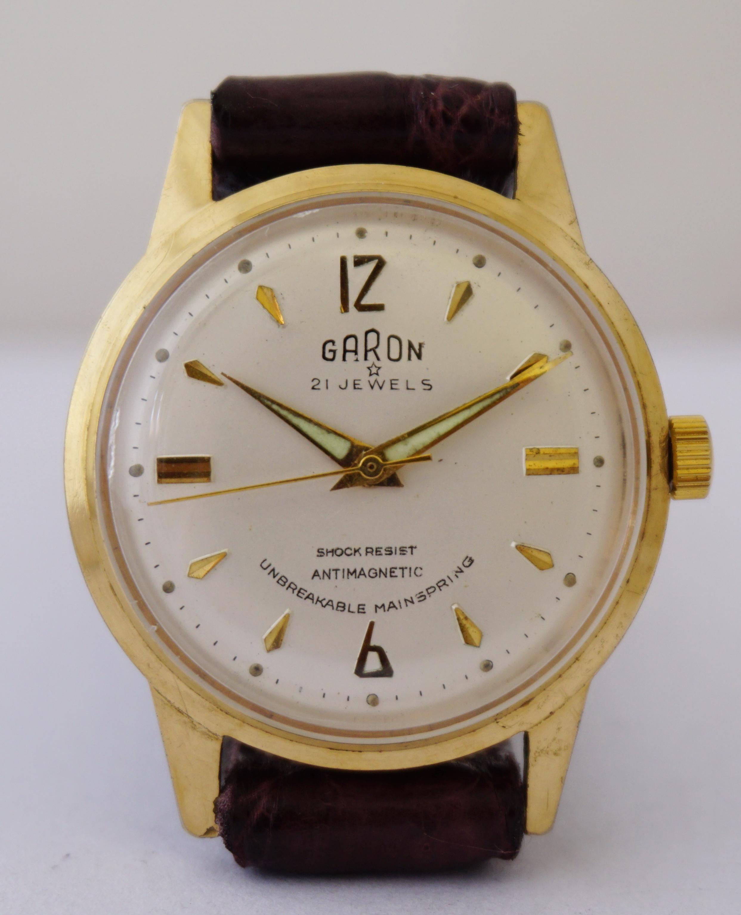 นาฬิกาเก่า GARON ไขลาน
