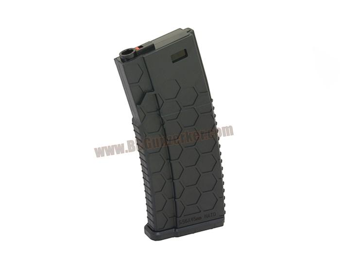 HexMAG M4 สีดำ (แม๊กสแตนด์-120นัด) - Castellan