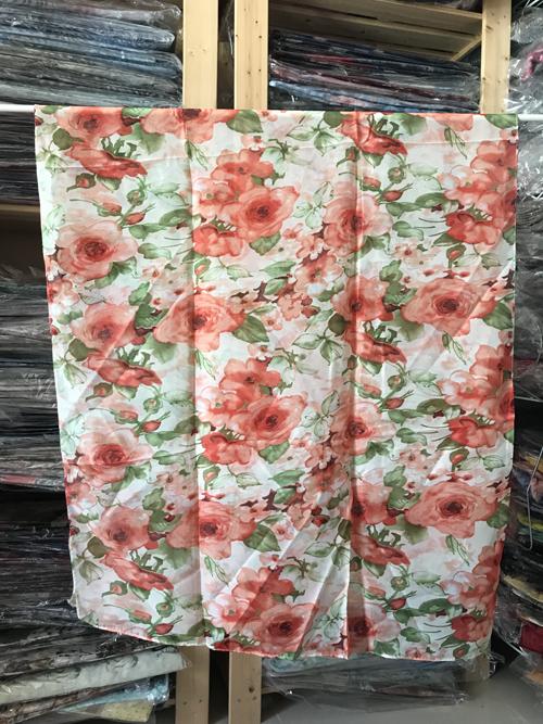 ผ้าพันคอ ชีฟอง สกรีนลาย Chiffon CF01-047