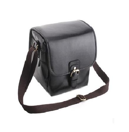 กระเป๋ากล้องDSLRสไตล์เรทโทร สีดำ