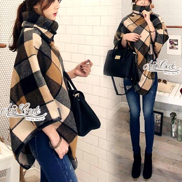 Burberry Clothes plaid woolen shawl