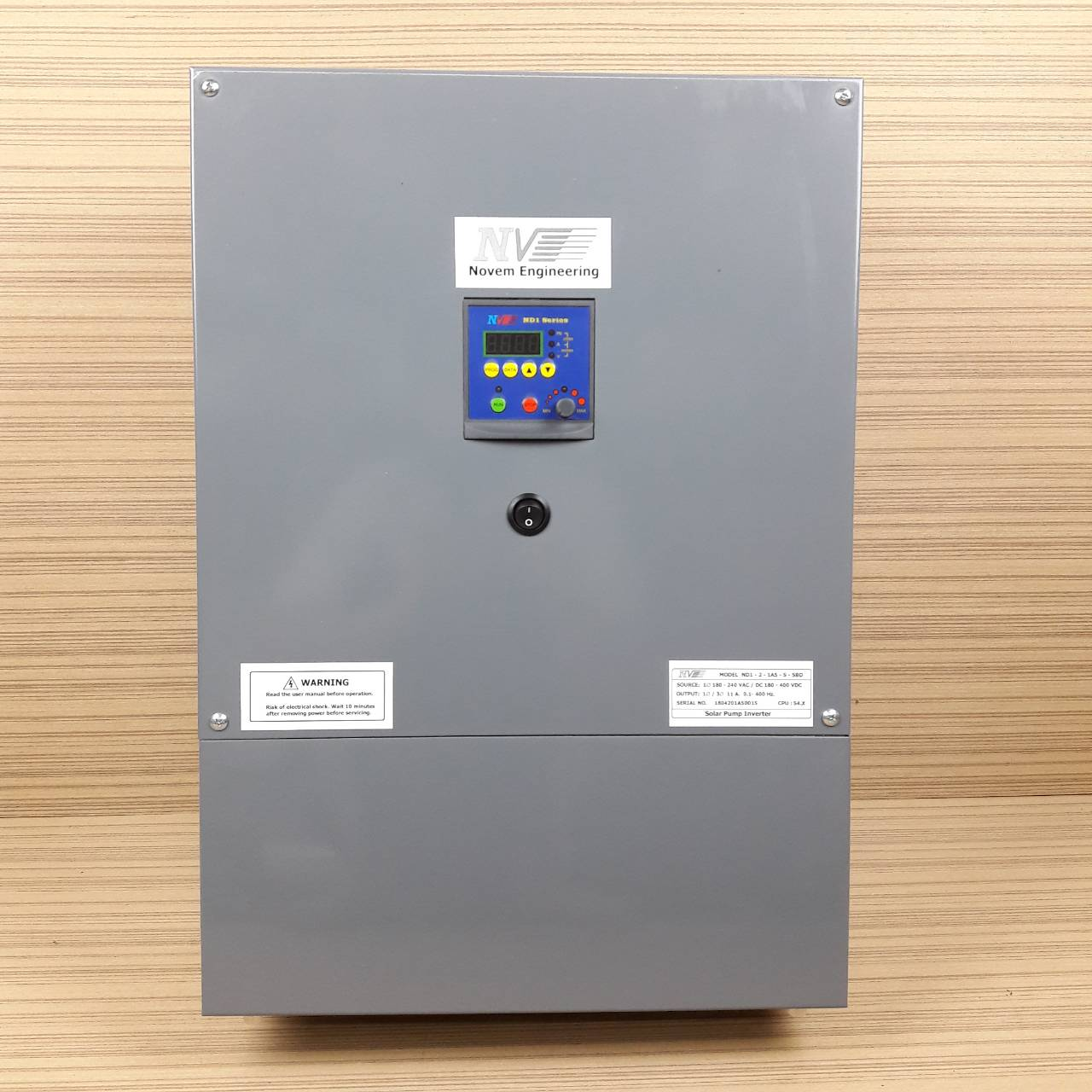 ND1-2-1A5-S-SBD รุ่น 1.5HP 11A Booth