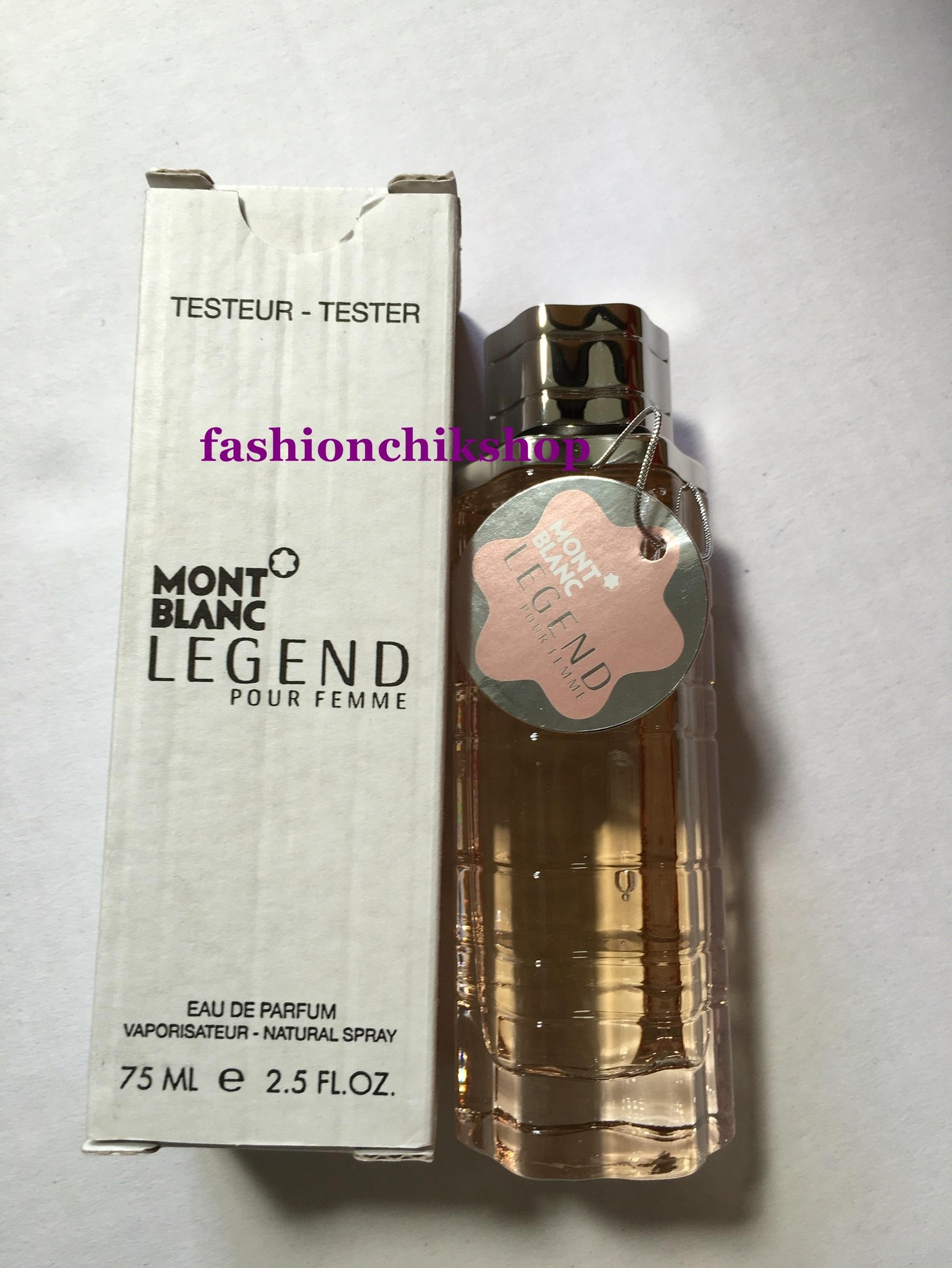 พร้อมส่ง MONT BLANC กับ Legend Pour Femme น้ำหอมกลิ่นหอมหวานสำหรับผู้หญิง