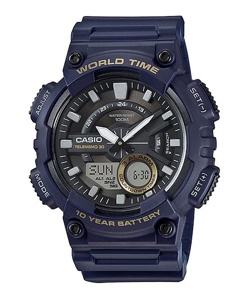Casio นาฬิกา รุ่น AEQ-110W-2AVDF CASIO นาฬิกา ราคาถูก ไม่เกิน สองพัน
