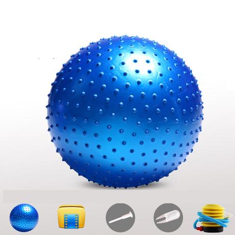 (พร้อมส่ง) บอลโยคะ แบบหนาม ขนาด 95CM