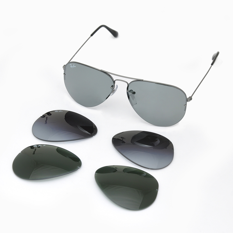 0232af0a6ca0d ... spain rayban aviator flip out rb3460 004 6 8f9aa 867a3