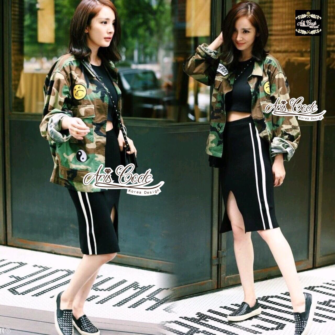 Style camouflage jacket windbreaker