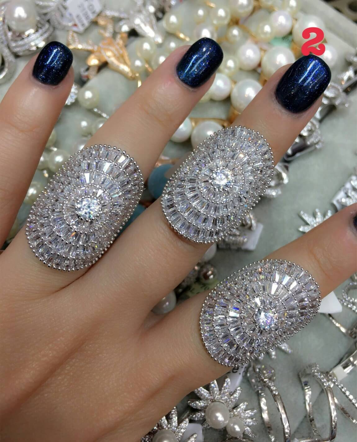 พร้อมส่ง Diamond Ring งานเพชรสวิส แท้